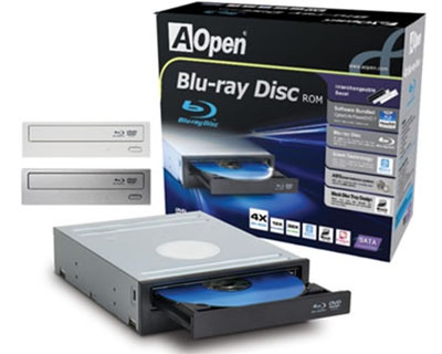 Aopen Blue-Ray HD-DVD ROM DVD+RW BLACK SATA